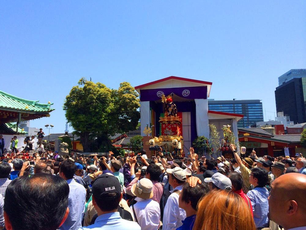 神田祭 境内